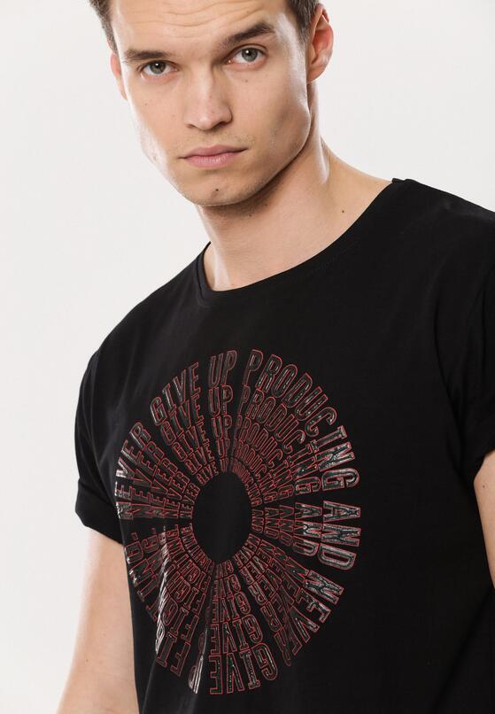 Czarna Koszulka Surmount