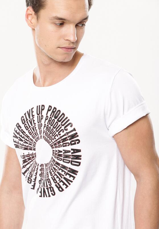 Biała Koszulka Surmount