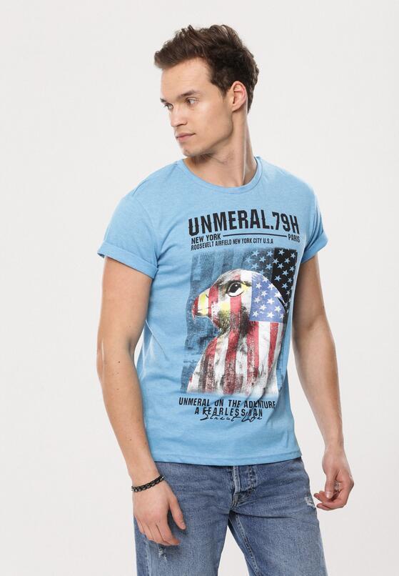 Niebieska Koszulka Another
