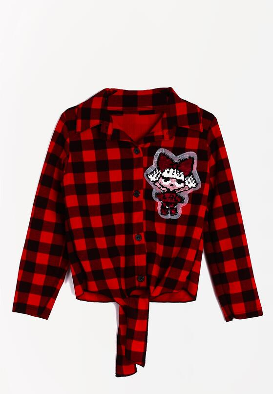 Czerwona Koszula Checked