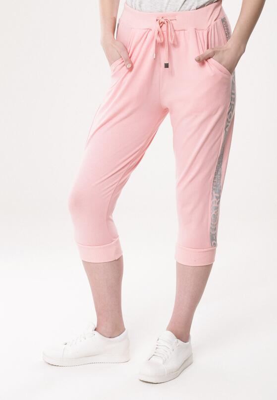 Jasnoróżowe Spodnie Dresowe Problem Solving