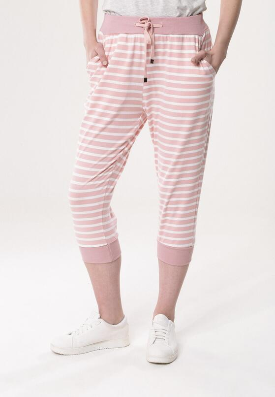 Jasnoróżowe Spodnie Dresowe Commiserate