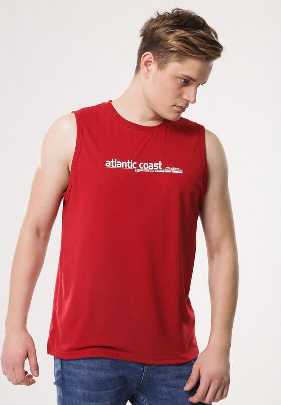 Bordowa Koszulka Artisan