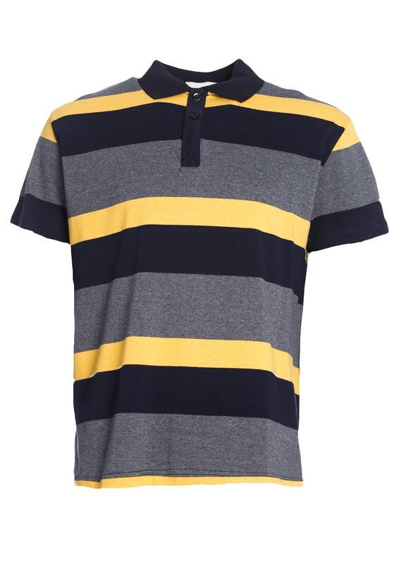 Szaro-Żółta Koszulka Work Ethic