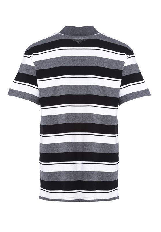 Szaro-Czarna Koszulka Adeptness