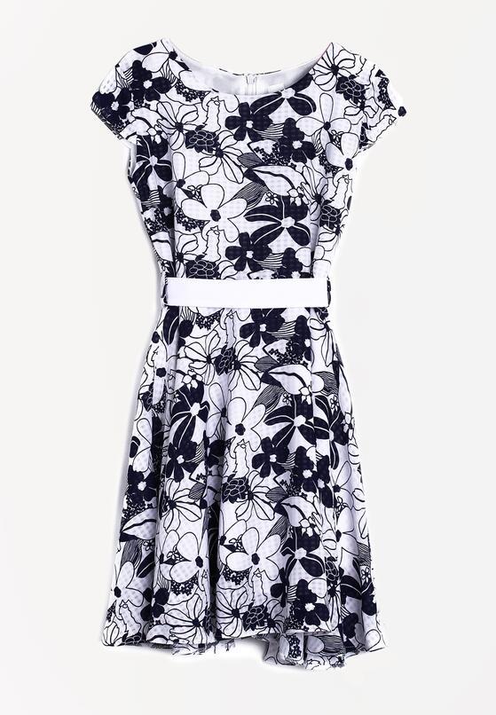 Biała Sukienka Mirthless