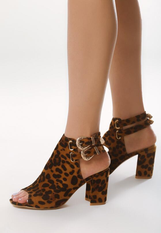 Panterkowe Sandały Touch On