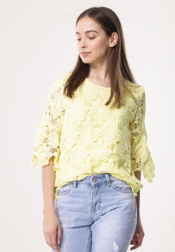Żółta Bluzka Ingenuous