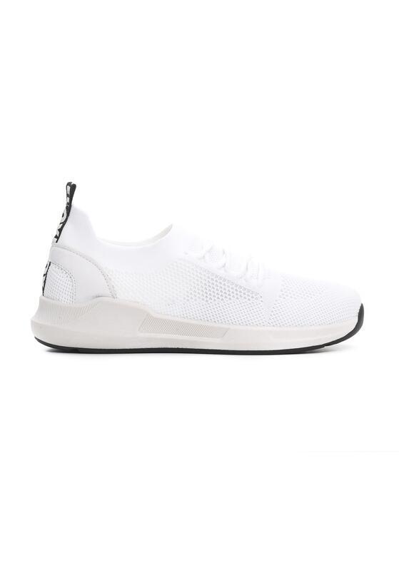 Białe Buty Sportowe Backcloth
