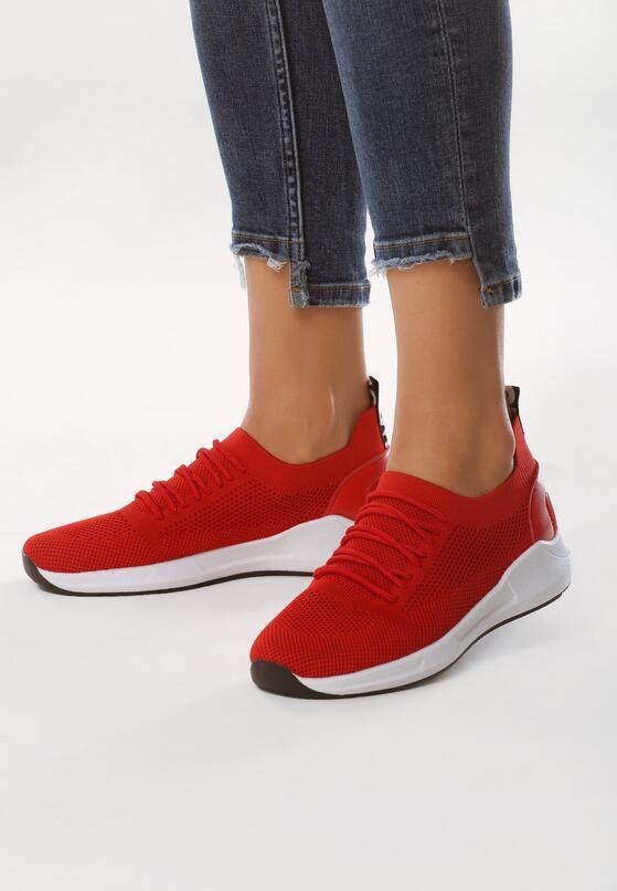 Czerwone Buty Sportowe Backcloth