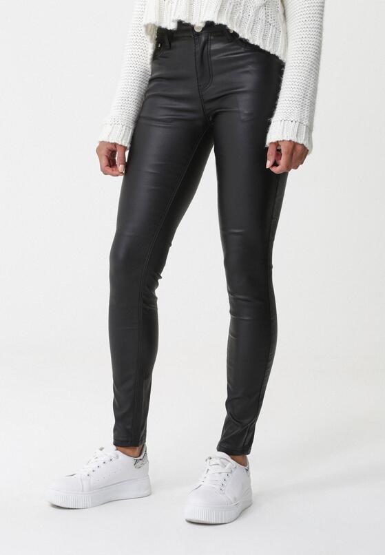 Czarne Spodnie Pioneering