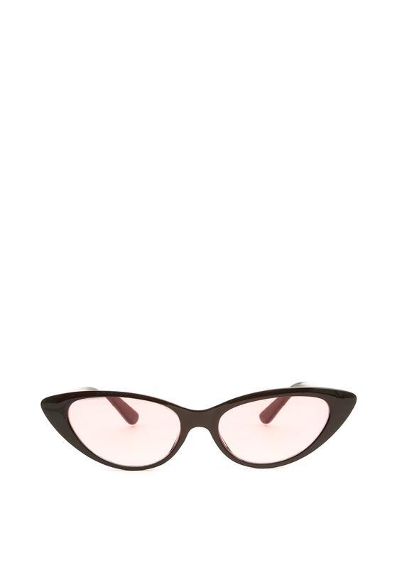 Czarno-Różowe Okulary Renew