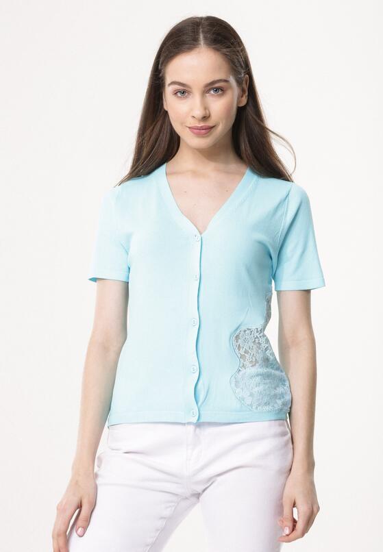 Niebieska Bluzka Seriousness