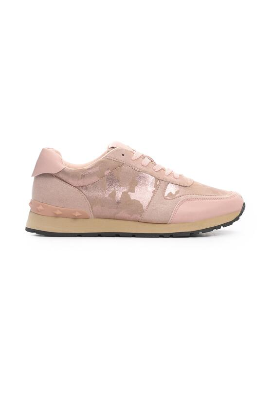 Różowe Buty Sportowe Constructiveness