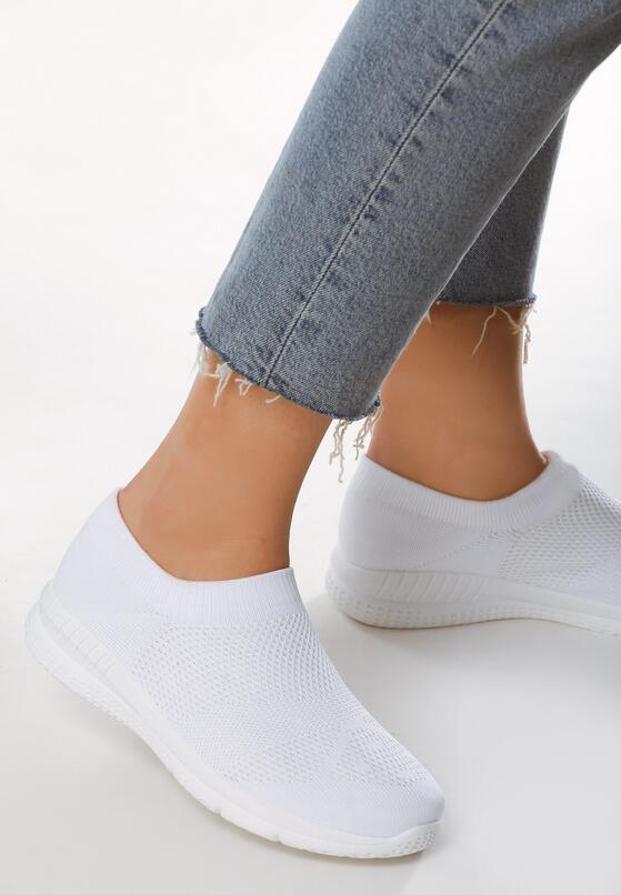Białe Buty Sportowe Naivete