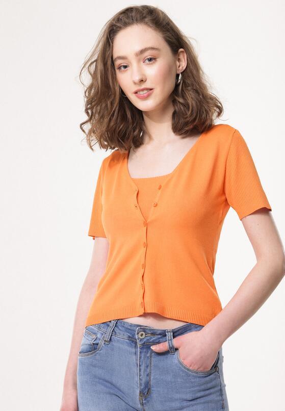 Pomarańczowa Bluzka Impenetrability