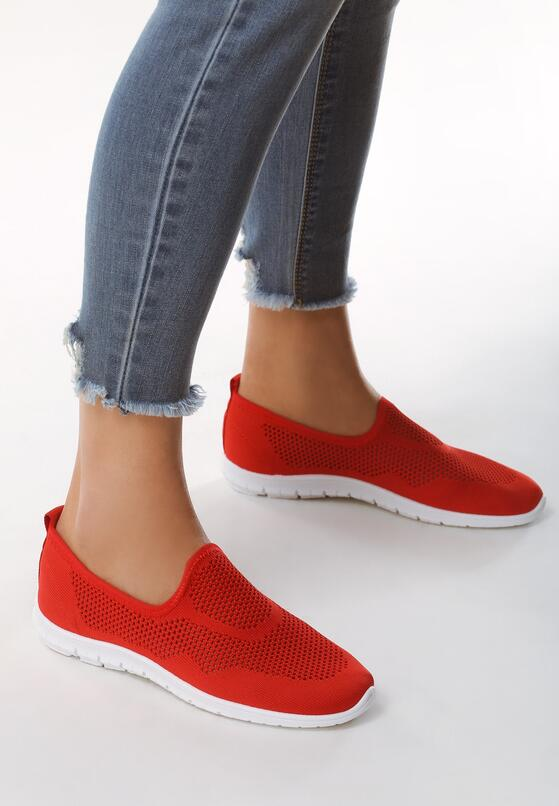 Czerwone Slip On Era