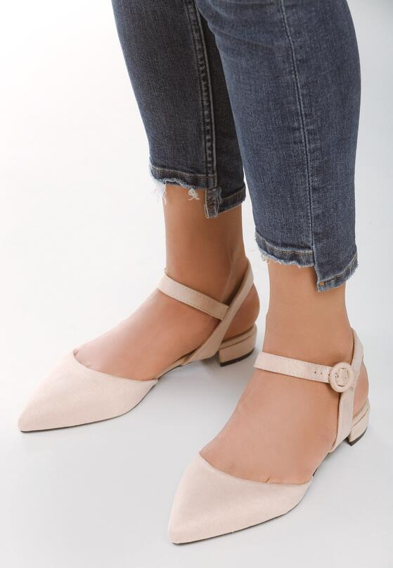 Beżowe Sandały Electrodynamics