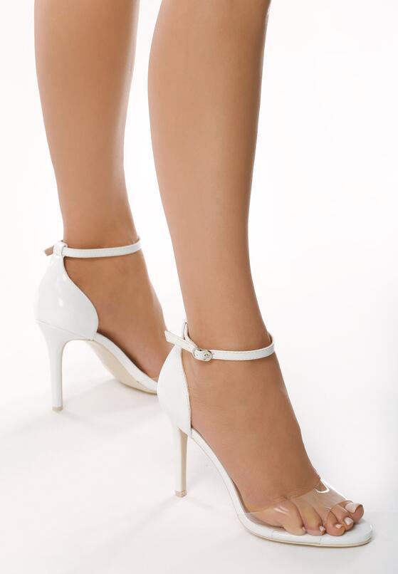 Białe Sandały Blissful Blossoms