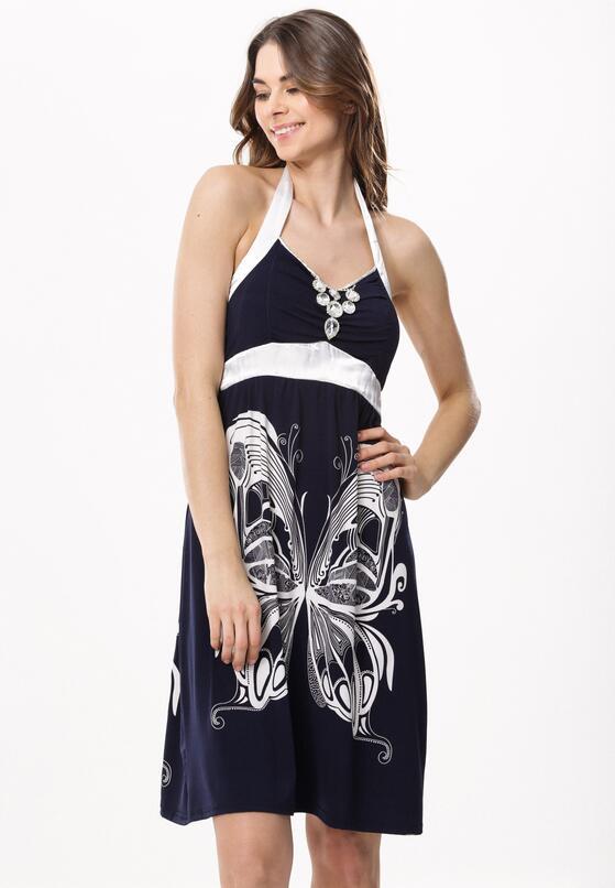 Granatowa Sukienka Supposed