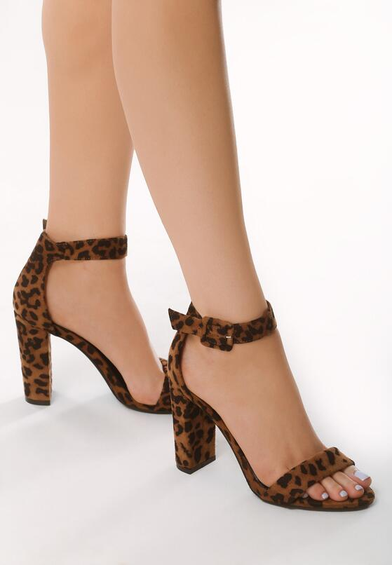 Panterkowe Sandały Inspiratory
