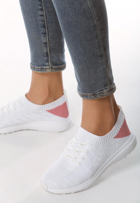 Białe Buty Sportowe Potion