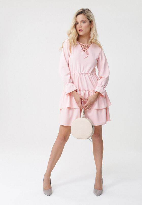Łososiowa Sukienka Natured