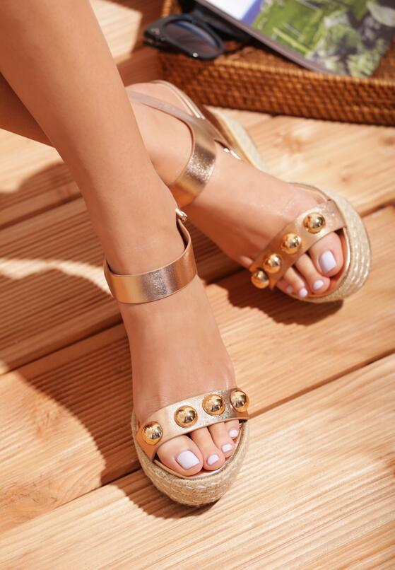 Szampańskie Sandały Encolden