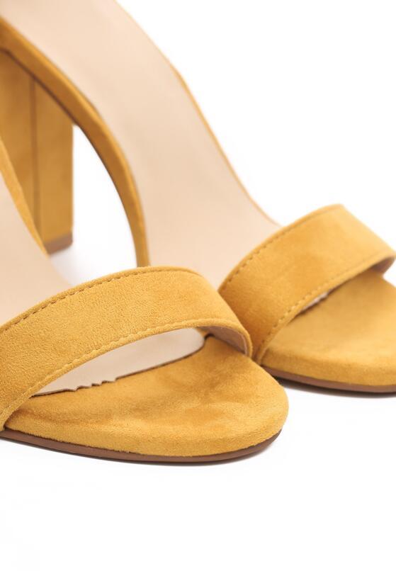 Żółte Sandały Inactivate