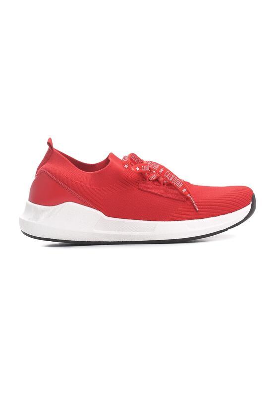 Czerwone Buty Sportowe Seeing