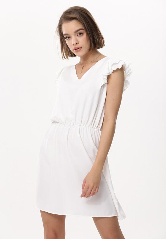 Biała Sukienka What's Going On