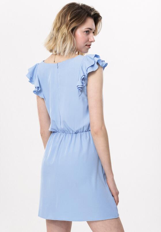 Niebieska Sukienka What's Going On