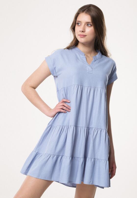 120394e8f1 Niebieska Sukienka Rosehip w Born2be.pl