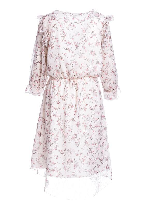 Kremowa Sukienka Modern Evolution