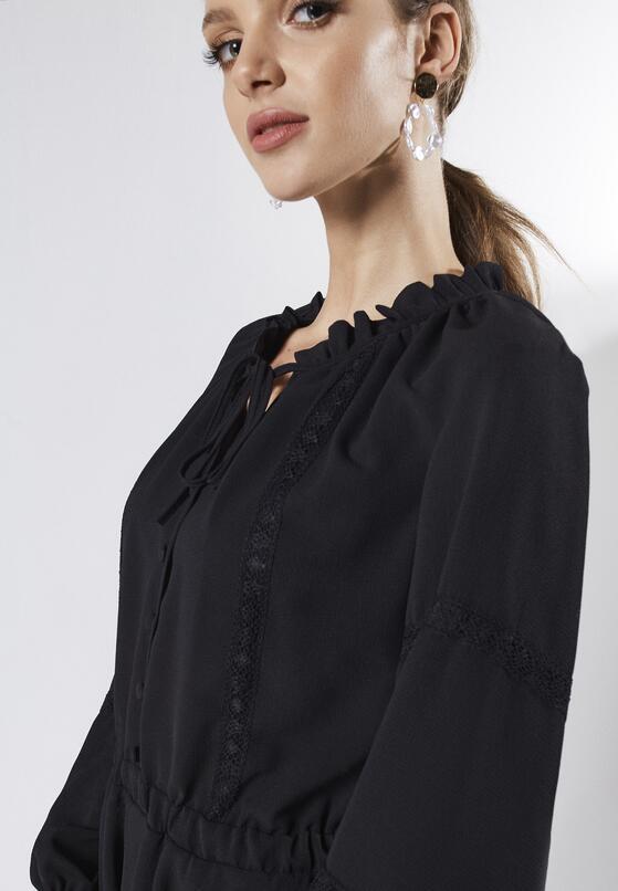 Czarna Sukienka Unique