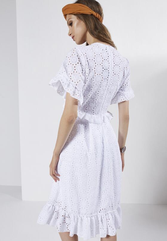 Biała Sukienka Purity Of Heart
