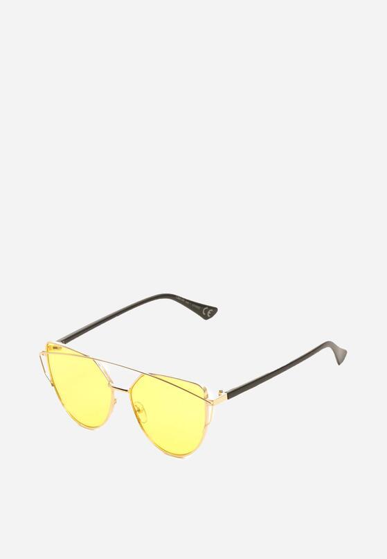 Żółte Okulary Examine Thing