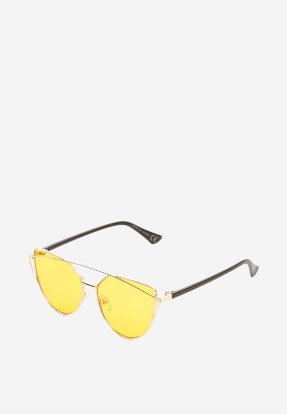 Pomarańczowe Okulary Examine Thing