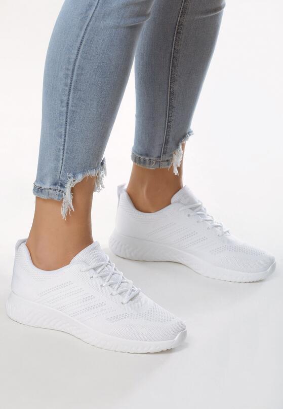 Białe Buty Sportowe Achiever