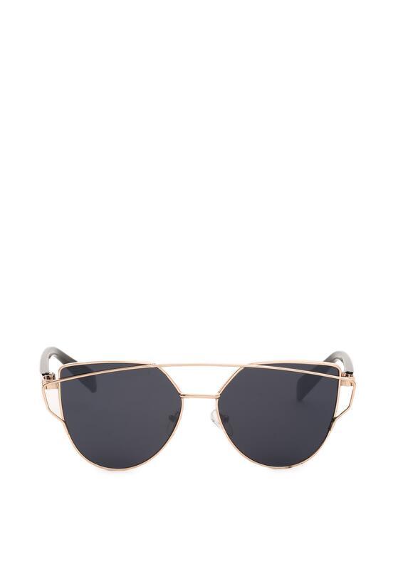 Czarno-Złote Okulary Resiliency