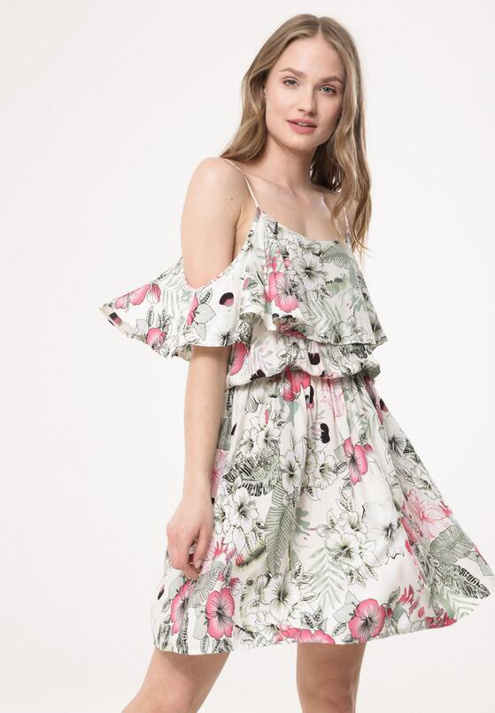 Biała Sukienka Trounce