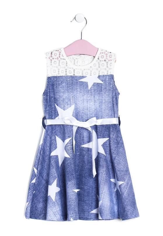 Ciemnoniebieska Sukienka Mundaneness