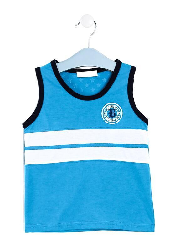 Niebieska Koszulka Misthink