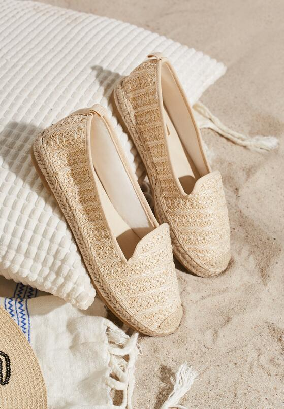 Beżowe Espadryle Good Value