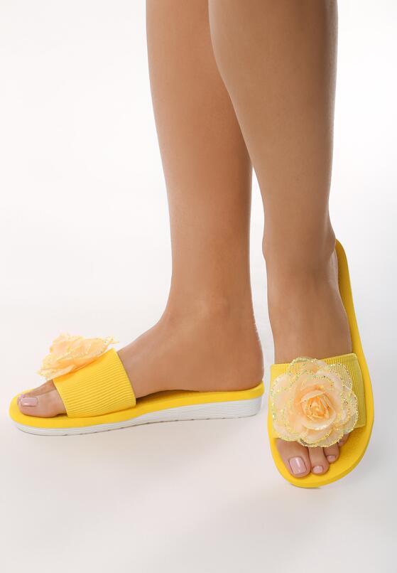 Żółte Klapki Primitive