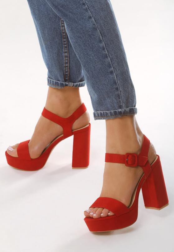 Czerwone Sandały Dressiest