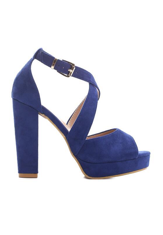 Niebieskie Sandały Felicitous