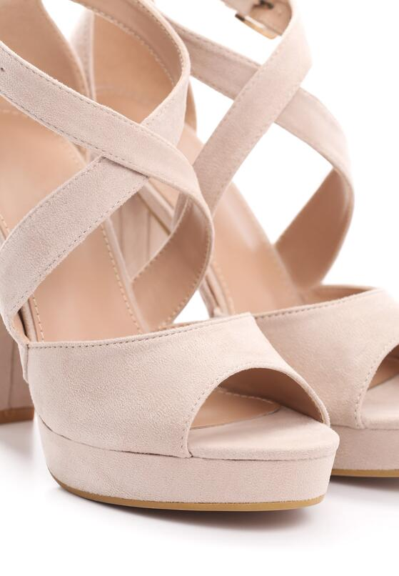 Beżowe Sandały No Longer
