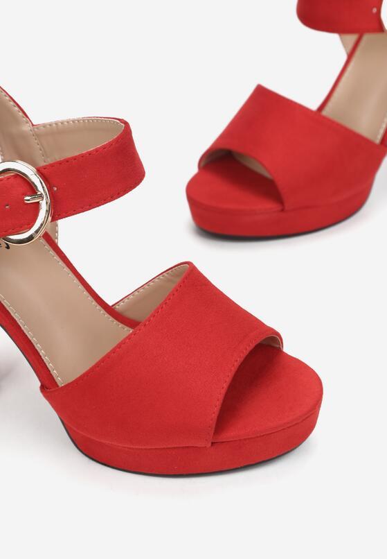 Czerwone Sandały Minuscule