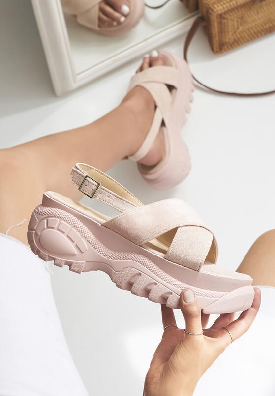 Różowe Sandały Receive